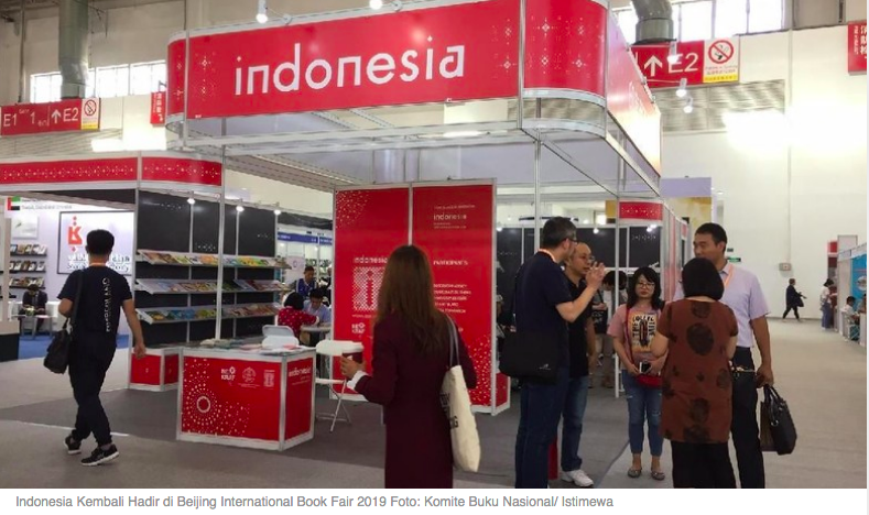 Indonesia Kembali Hadir di Beijing International Book Fair 2019