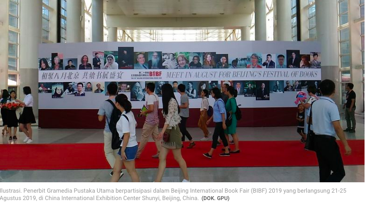 GPU Serius Garap Pasar Asia lewat Beijing International Book Fair 2019